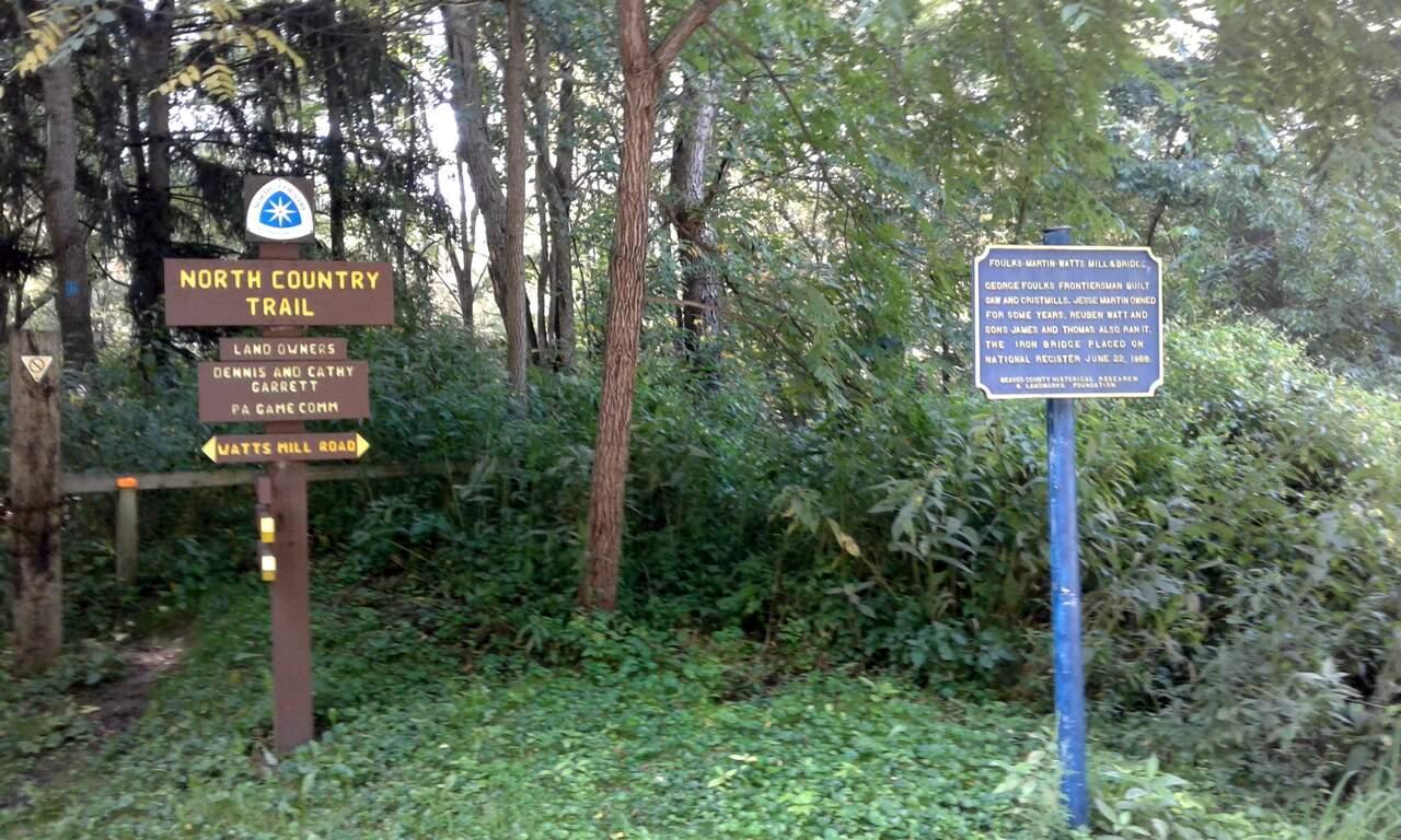 Watt's Mill Shelter to Pa/Ohio State Line Hike