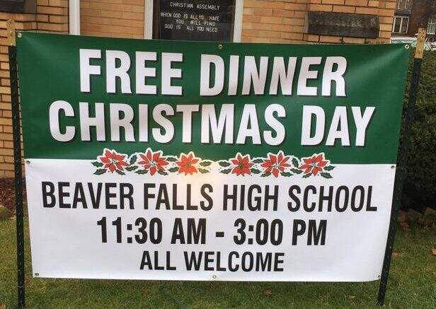 26th Annual Free Christmas Day Dinner