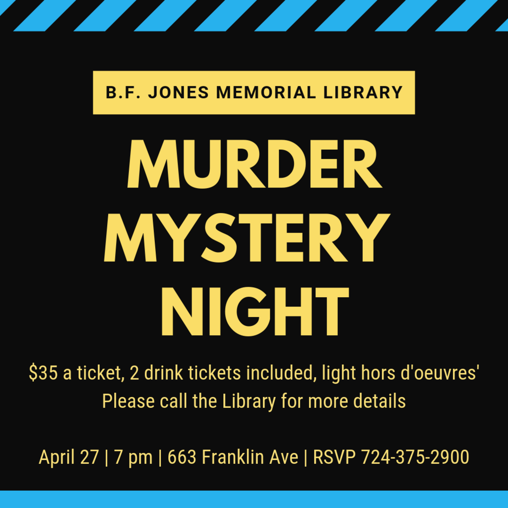Murder Mystery Night at the Library