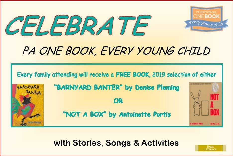 CELEBRATE PA ONE BOOK, EVERY YOUNG CHILD