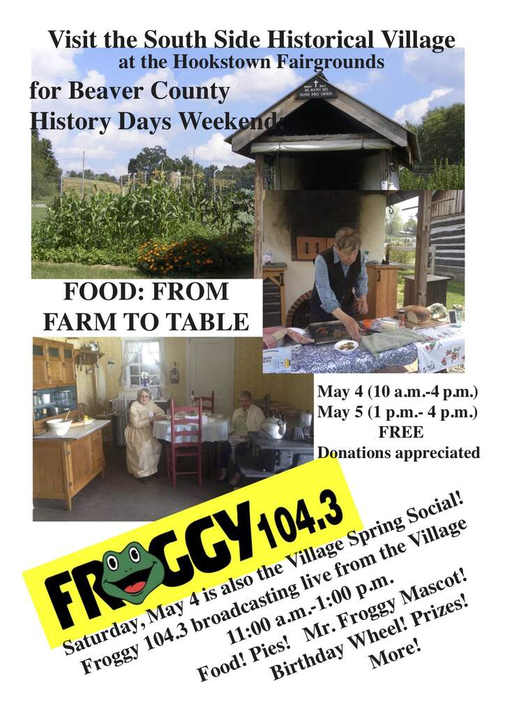 History Day Weekend Celebration: From Garden to Table + Spring Social at the VIllage