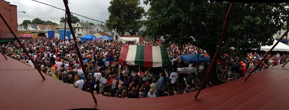 AIC San Rocco Procession Celebration