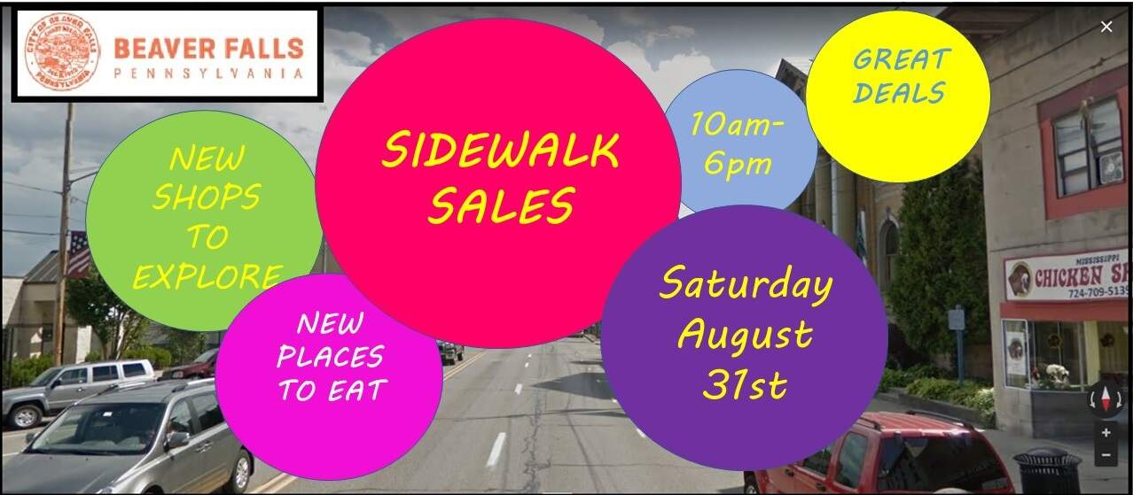 Summer Sidewalk Sales