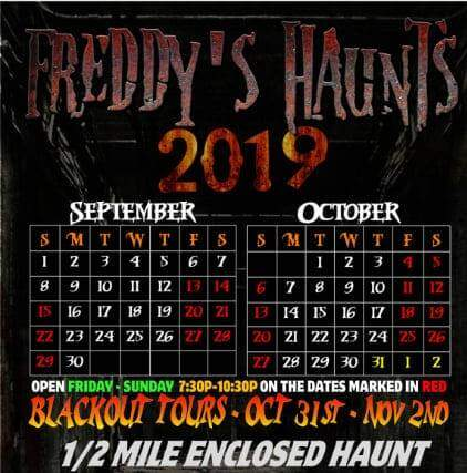 Freddy's Haunts