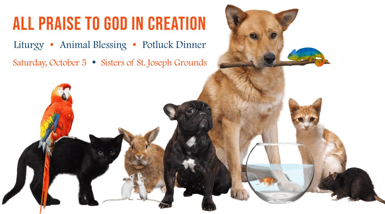 Animal Blessing, Eucharistic Liturgy & Potluck