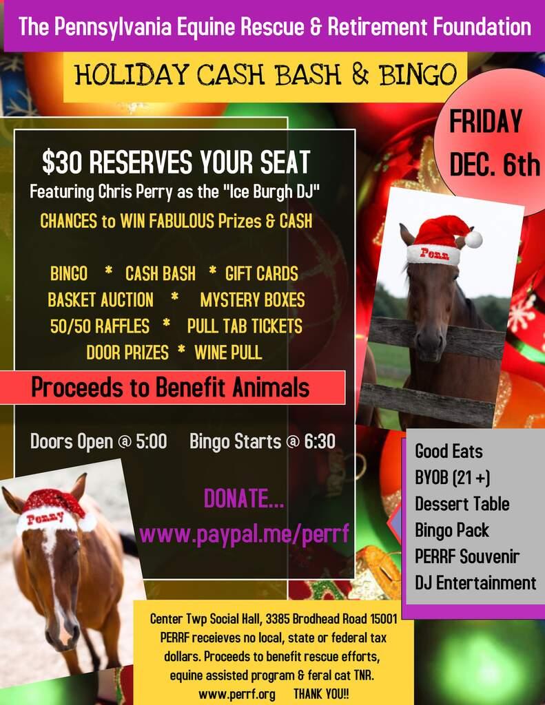 Holiday Cash Bash & Bingo Extravaganza
