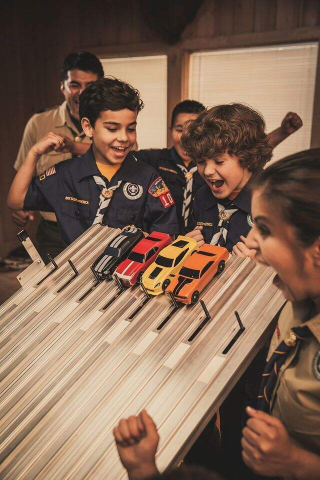 Beaver Valley Pinewood Derby Mall Show