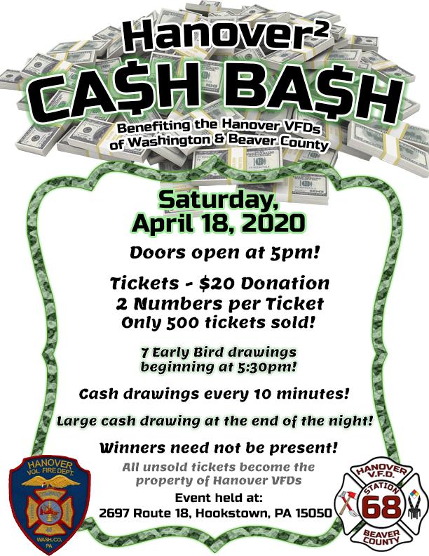 Hanover² Cash Bash!