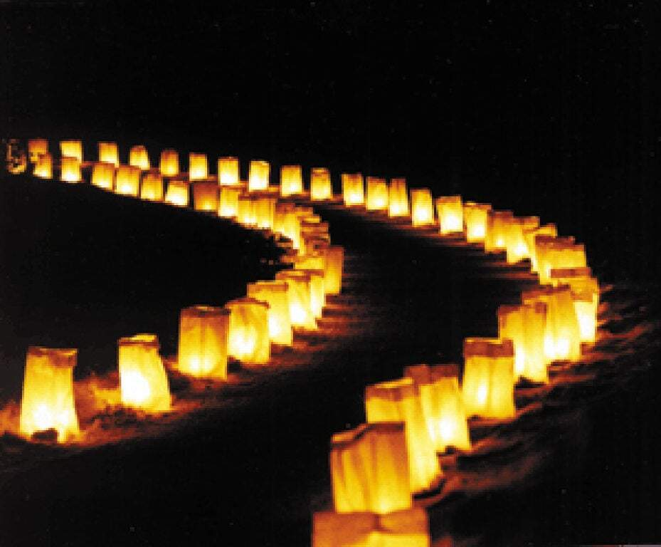 Relay For Life Drive-Thru Luminaria