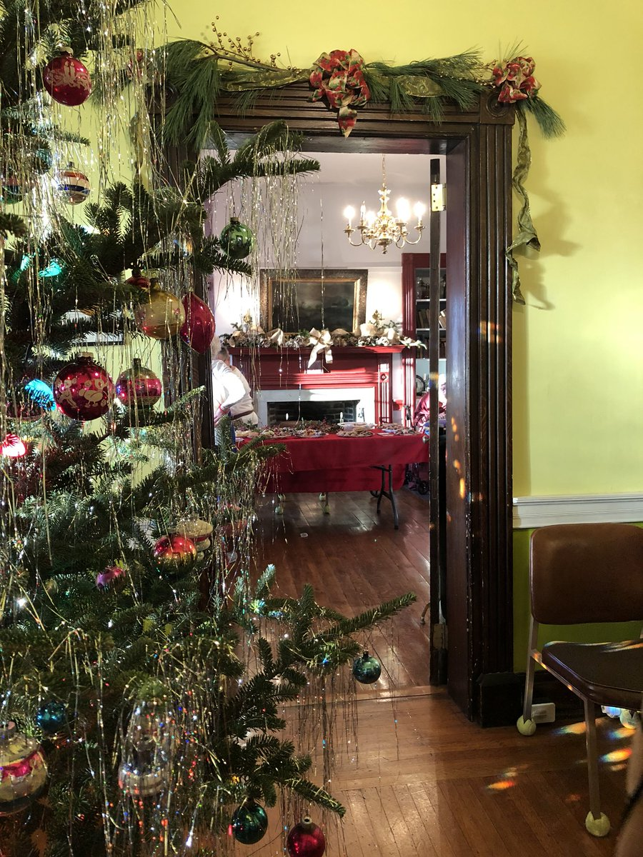 Christmas at the Vicary Mansion