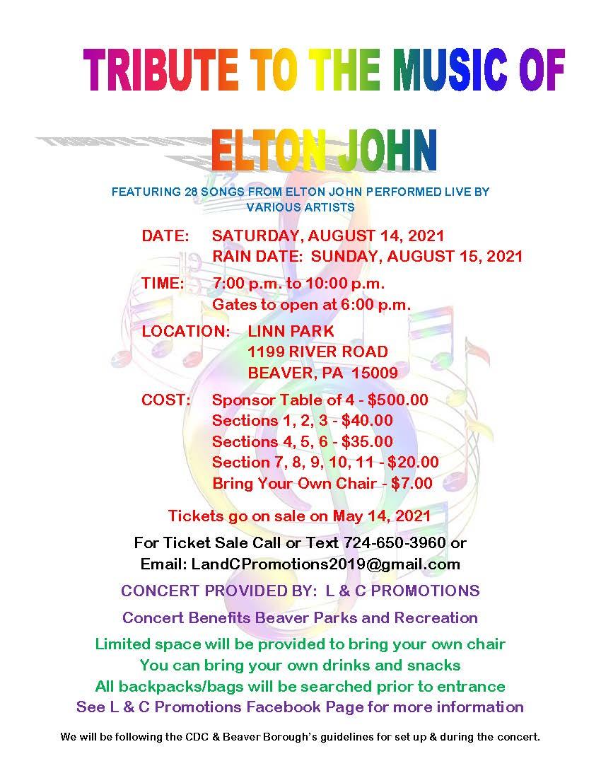 Tribute to the Music of Elton John
