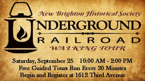 Underground Railroad Walking Tour