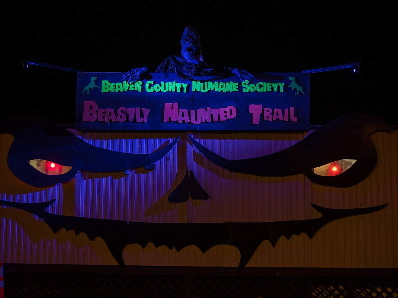 Beastly Haunted trail