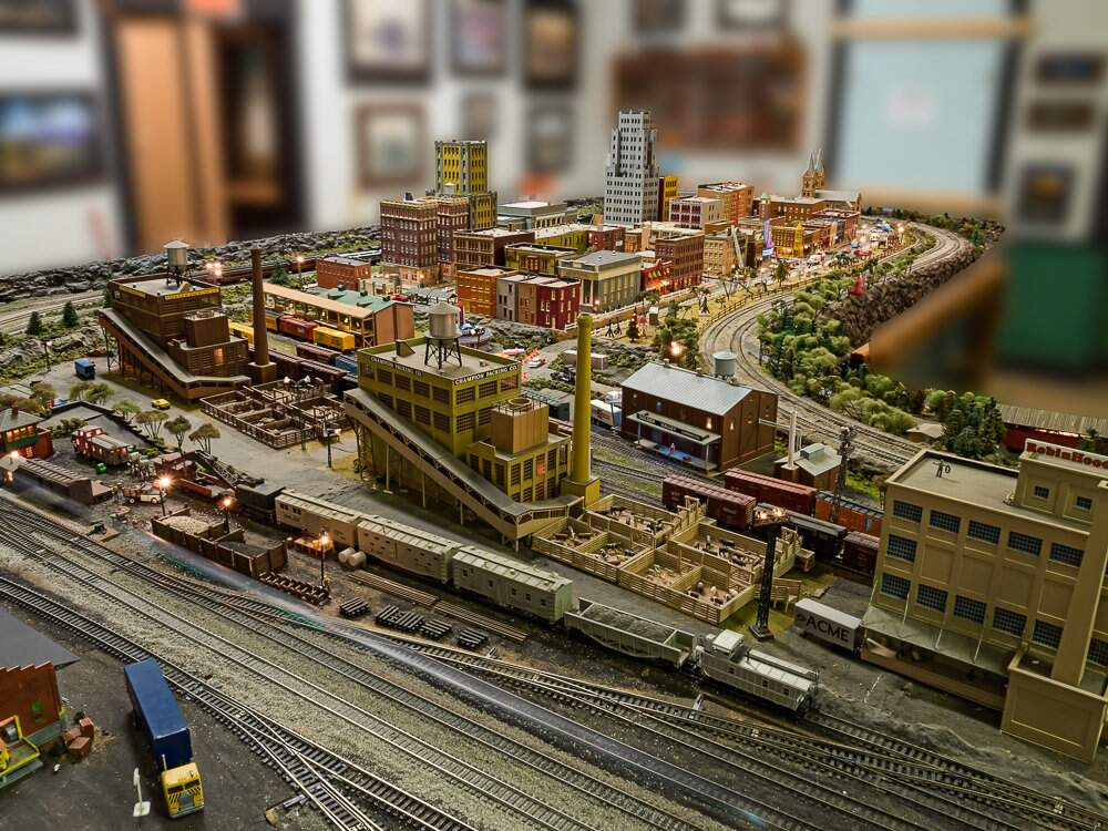Beaver County Model RR Christmas Season Open House