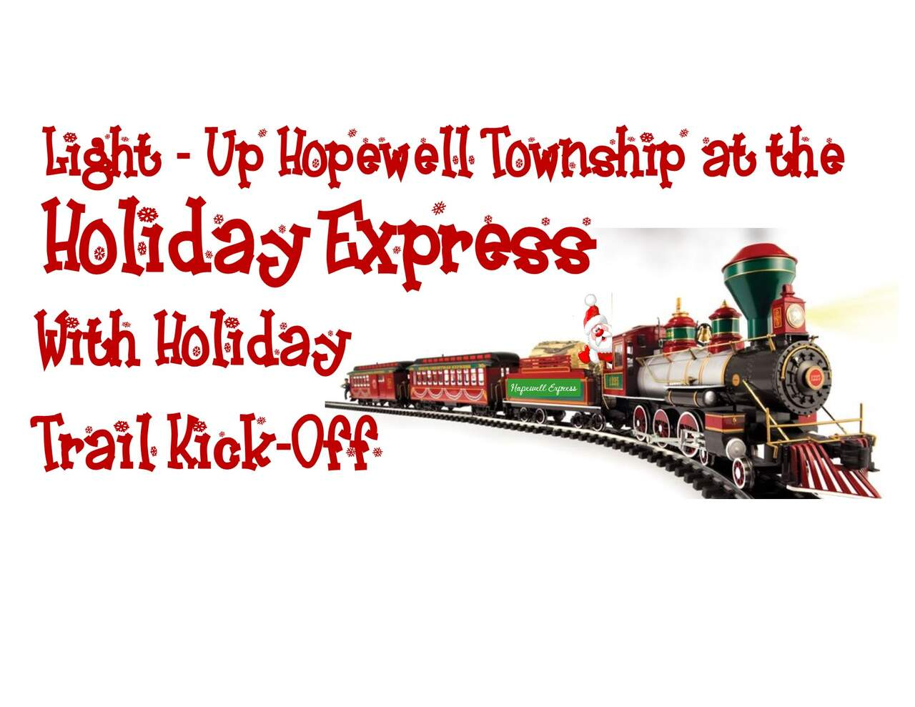 Hopewell's Holiday Express Light-Up Night