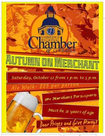 5th Annual Autumn on Merchant Ale Walk
