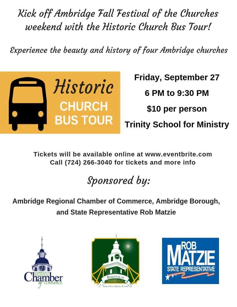 Historic Church Bus Tour