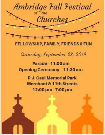 4th Annual Fall Festival of the Churches