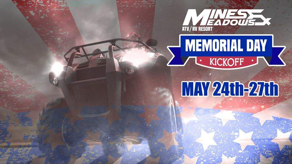 Memorial Day Kickoff at Mines and Meadows