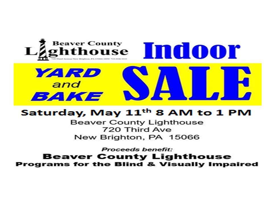 Indoor Yard and Bake Sale