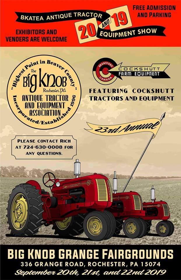 23rd Annual Big Knob Antique Tractor & Equipment Show