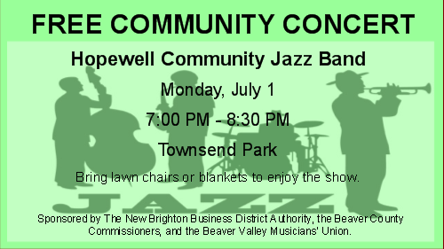 Hopewell Community Jazz Band Concert