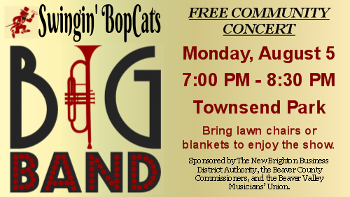 Swingin' BopCats Big Band Concert