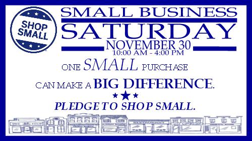 Small Business Saturday in New Brighton