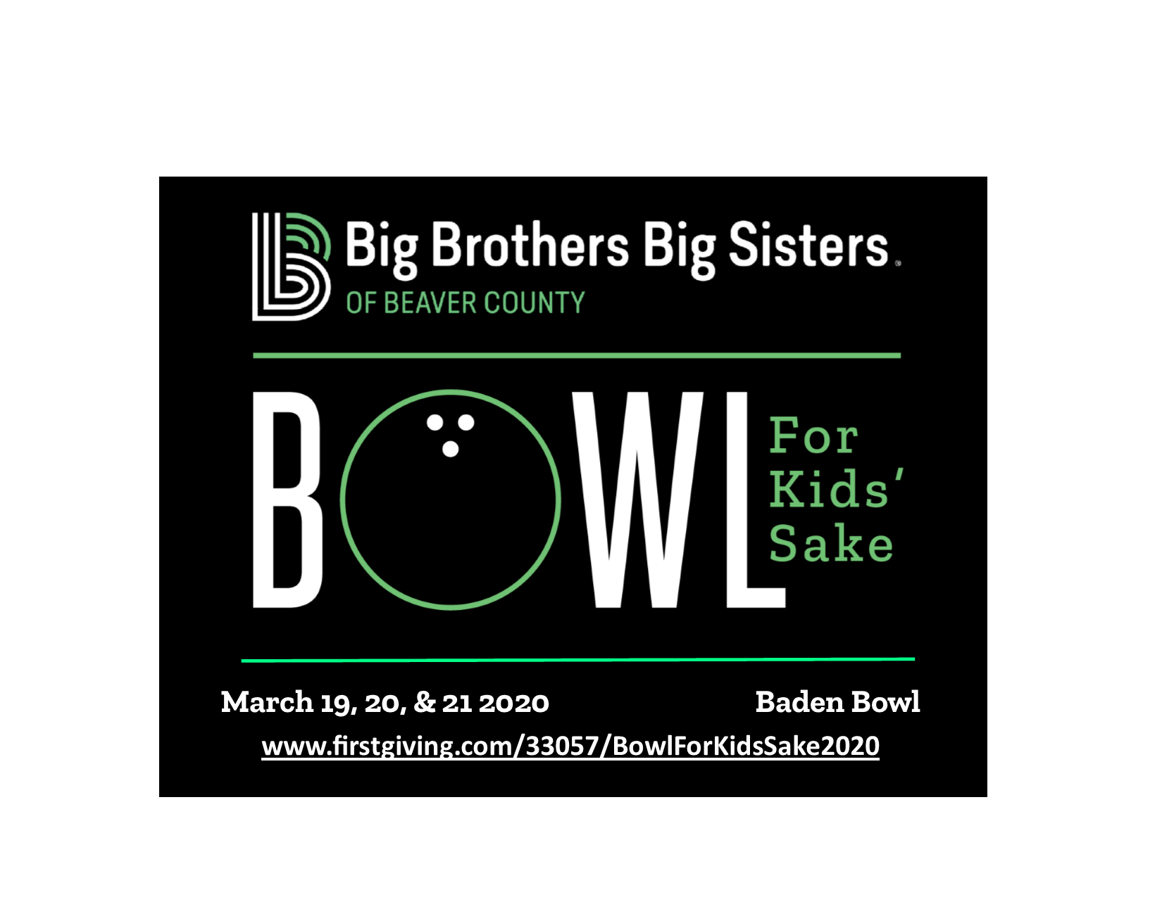 Bowl For Kids' Sake 2020