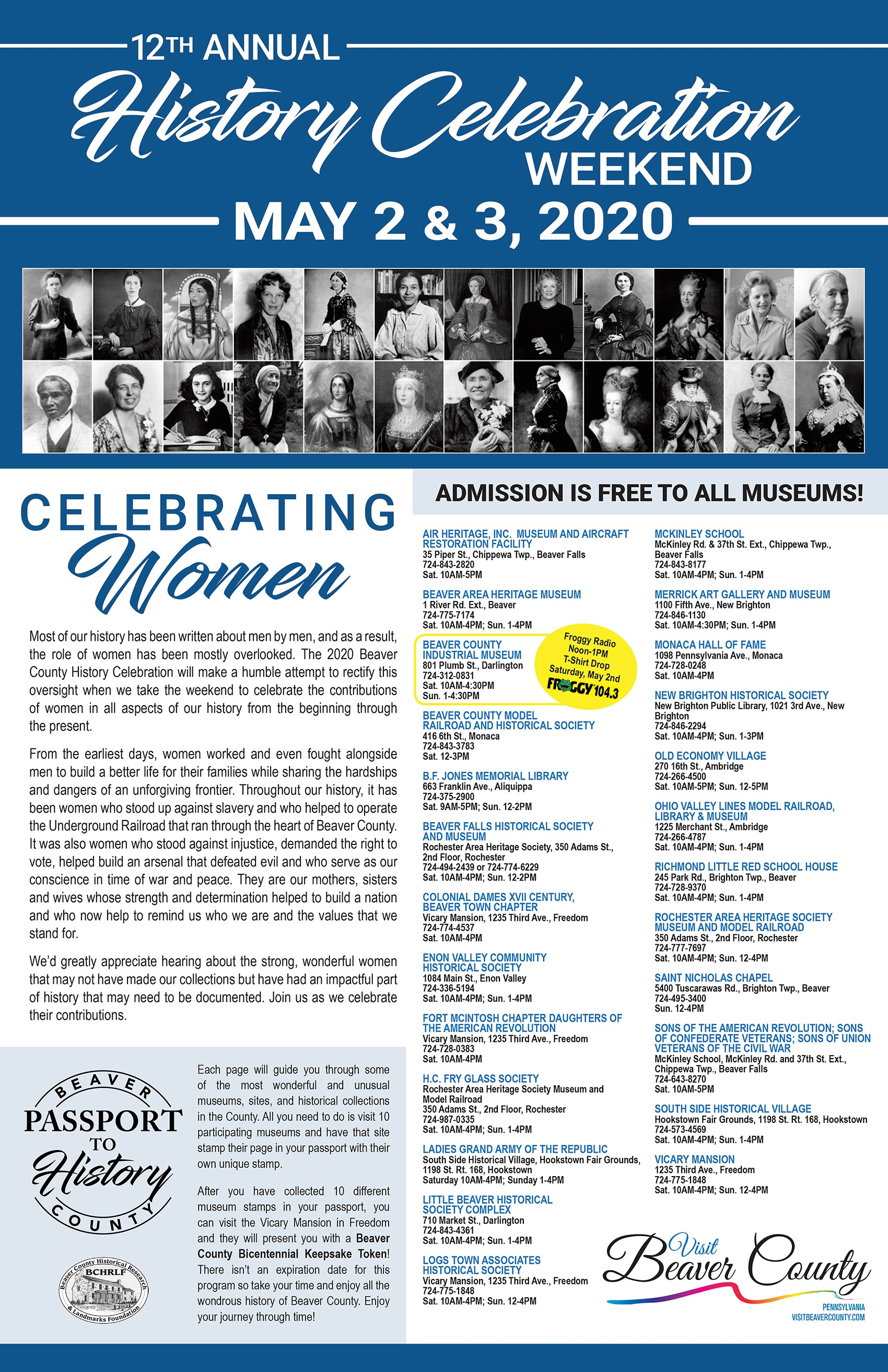 12th Annual History Celebration Weekend